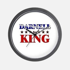 DARNELL for king Wall Clock
