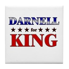 DARNELL for king Tile Coaster