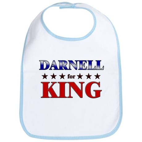 DARNELL for king Bib