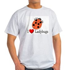 I Love Ladybugs T-Shirt