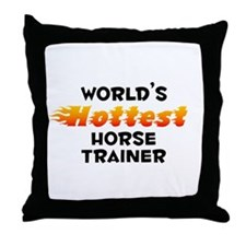 World's Hottest Horse.. (B) Throw Pillow
