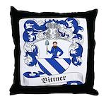 Bittner Family Crest Throw Pillow