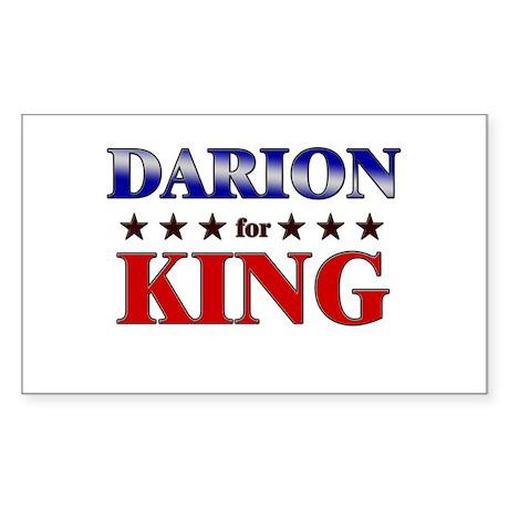 DARION for king Rectangle Sticker