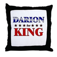 DARION for king Throw Pillow
