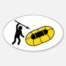 Dinghy Stabber Oval Decal