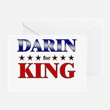 DARIN for king Greeting Card