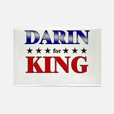 DARIN for king Rectangle Magnet