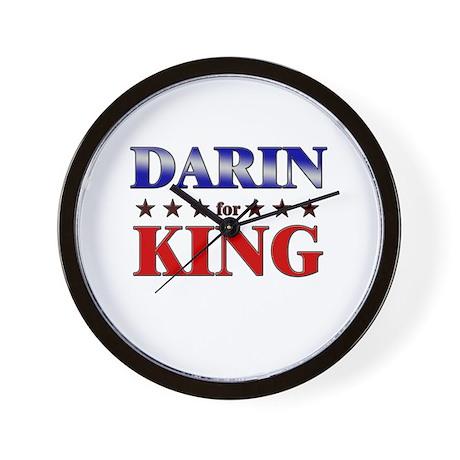 DARIN for king Wall Clock