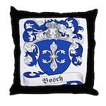 Bosch Family Crest Throw Pillow