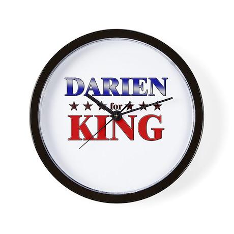 DARIEN for king Wall Clock
