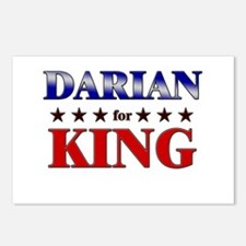 DARIAN for king Postcards (Package of 8)