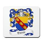 Bosse Family Crest Mousepad
