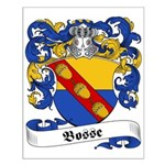 Bosse Family Crest Small Poster
