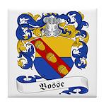 Bosse Family Crest Tile Coaster