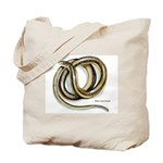 Glass Lizard Snake Tote Bag