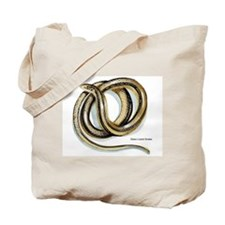 Glass Lizard Snake Tote Bag