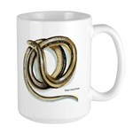 Glass Lizard Snake Large Mug