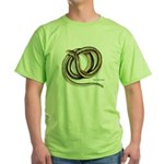 Glass Lizard Snake Green T-Shirt
