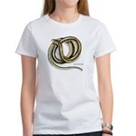 Glass Lizard Snake (Front) Women's T-Shirt