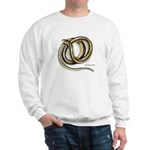 Glass Lizard Snake (Front) Sweatshirt