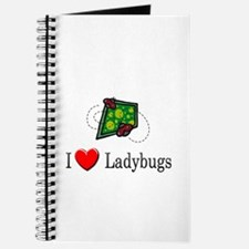 I Love Ladybugs Journal