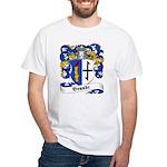 Brandt Family Crest White T-Shirt