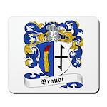Brandt Family Crest Mousepad