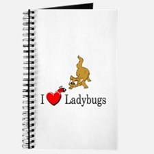 I Love Ladybugs Journal