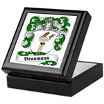 Braumann Family Crest Keepsake Box