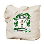 Braumann Family Crest Tote Bag