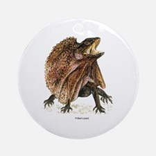Frilled Lizard Keepsake (Round)