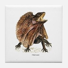 Frilled Lizard Tile Coaster