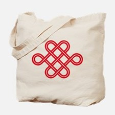 endless love knot Tote Bag