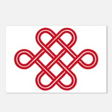 endless love knot Postcards (Package of 8)