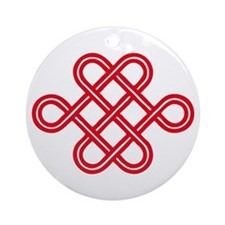 endless love knot Ornament (Round)
