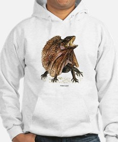 Frilled Lizard (Front) Hoodie