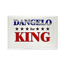 DANGELO for king Rectangle Magnet