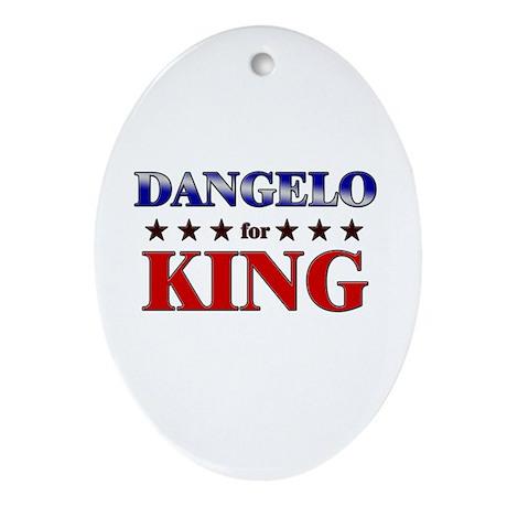 DANGELO for king Oval Ornament