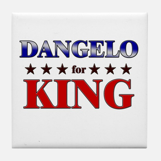 DANGELO for king Tile Coaster