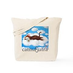 Catmasutra's Cat Art Cloud 9 Tote Bag