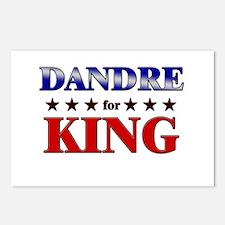 DANDRE for king Postcards (Package of 8)
