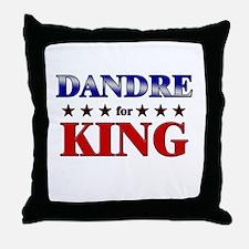 DANDRE for king Throw Pillow
