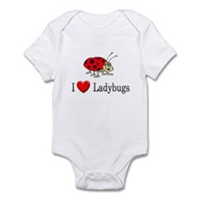 I Love Ladybugs Infant Bodysuit