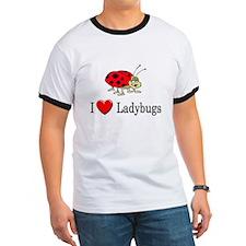 I Love Ladybugs T