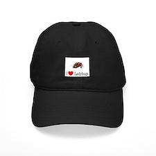 I Love Ladybugs Baseball Hat