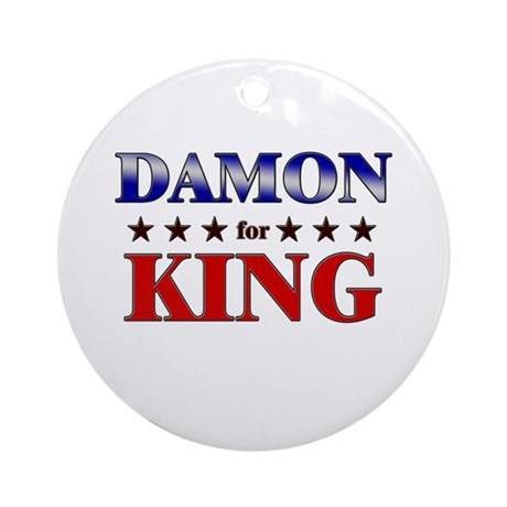 DAMON for king Ornament (Round)