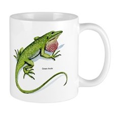 Green Anole Lizard Mug