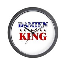 DAMIEN for king Wall Clock