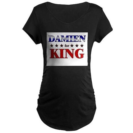 DAMIEN for king Maternity Dark T-Shirt