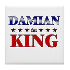 DAMIAN for king Tile Coaster